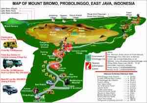 Lokasi dan Rute Akses Gunung Bromo Jawa Timur